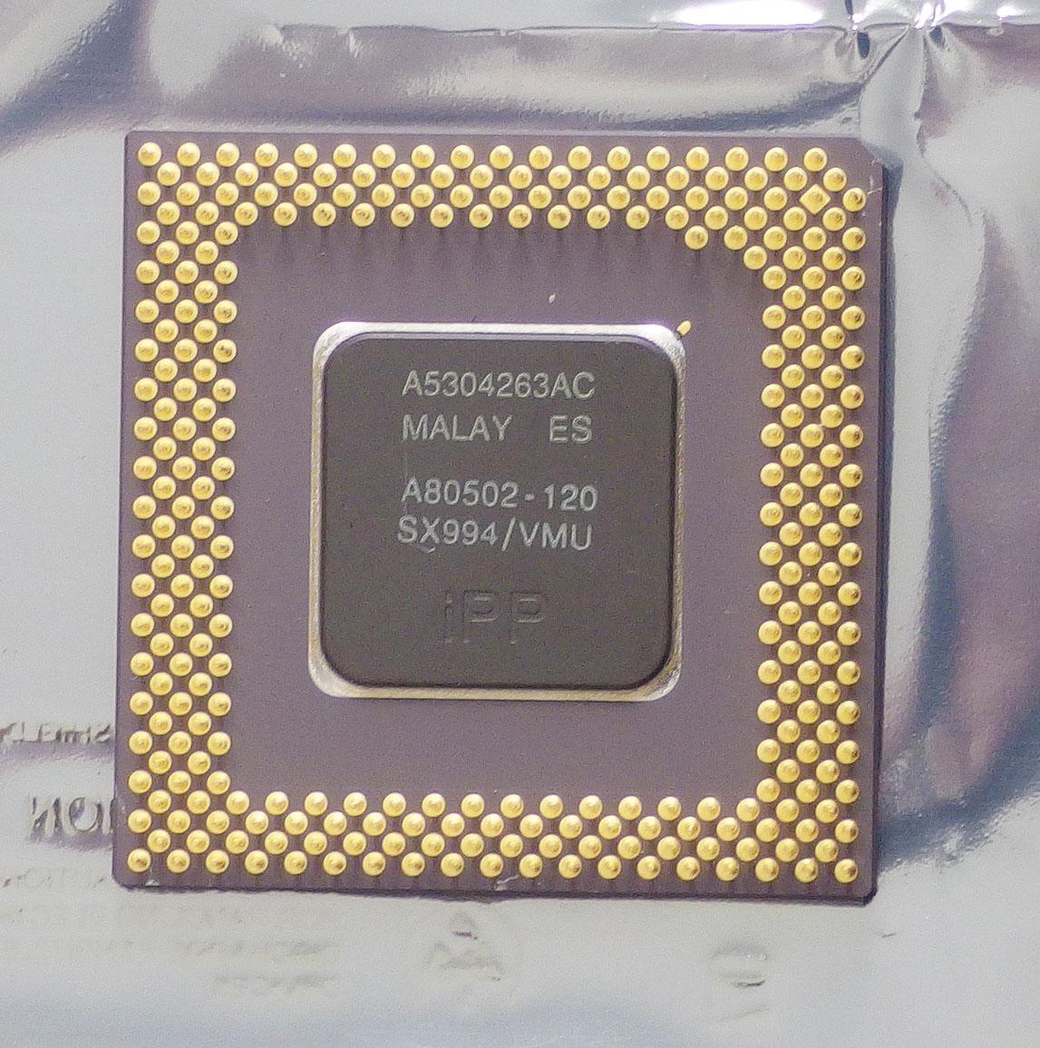 Intel Pentium A80502-120 Processor CPU SX994