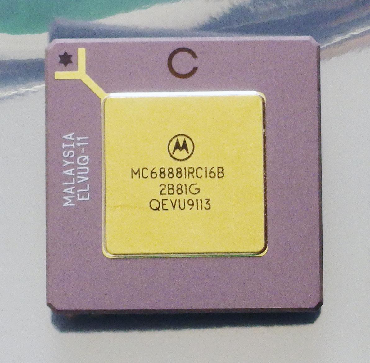 1PCS  IC MOTOROLA PLCC-52 MC68901FN MC68901FNR2