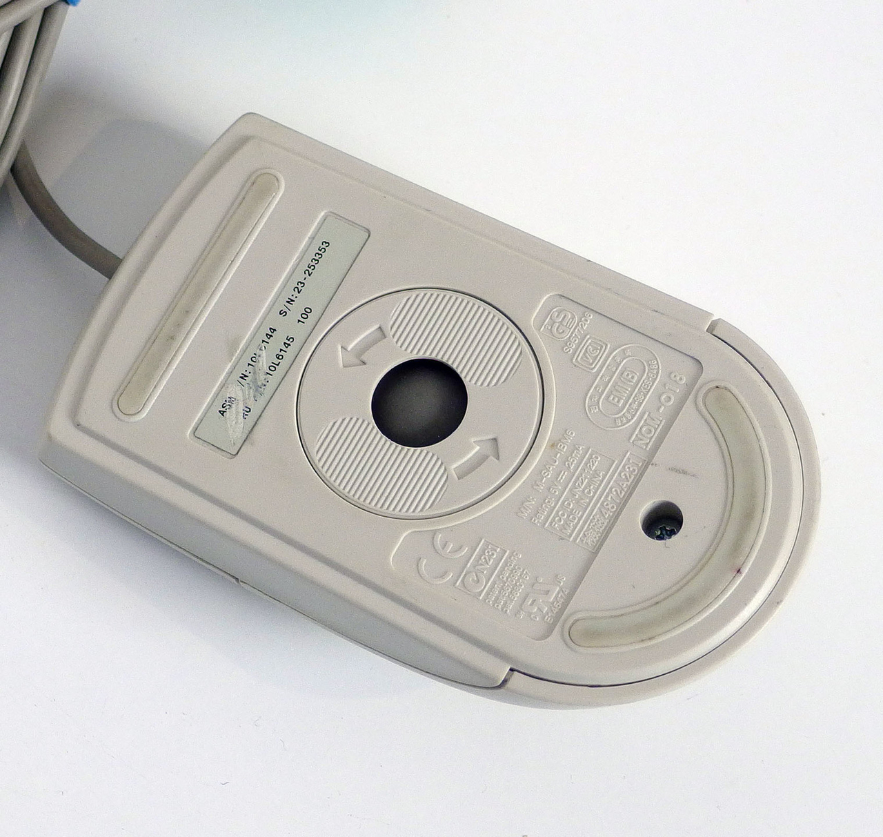 white P//S 2 Mouse IBM 10L6145 2-button