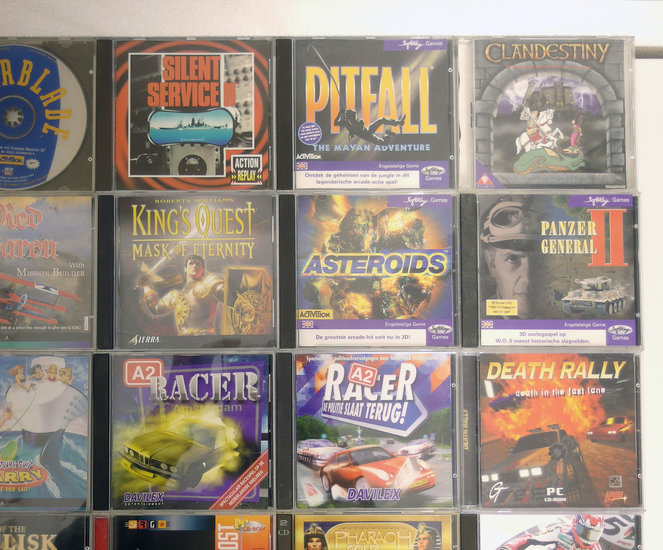 Lot #2 of 35 original PC CD-ROM games - DOS Windows 3 1 3 x 95 98