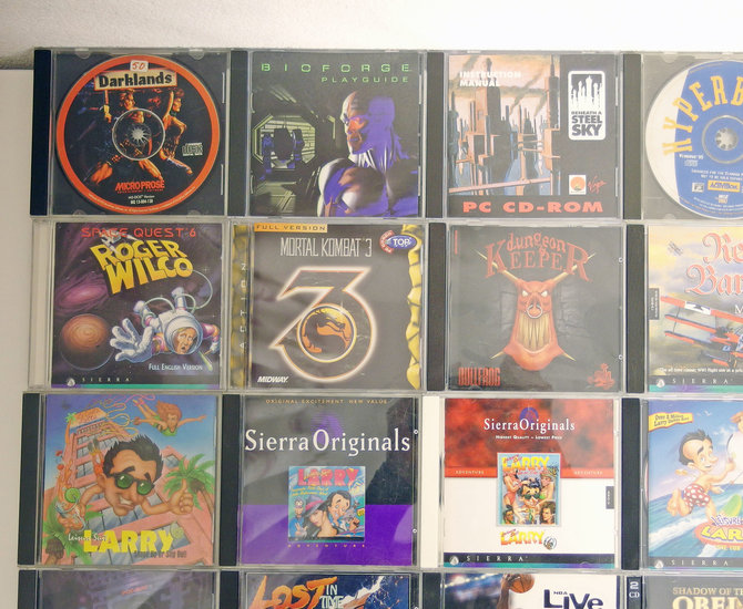 Lot #2 of 35 original PC CD-ROM games - DOS Windows 3 1 3 x 95 98