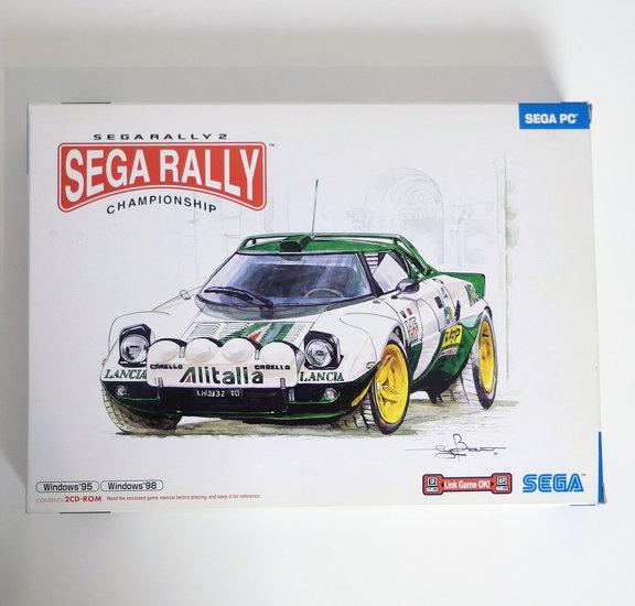 PC CD-ROM game Sega Rally 2 Championship complete - CIB big box race
