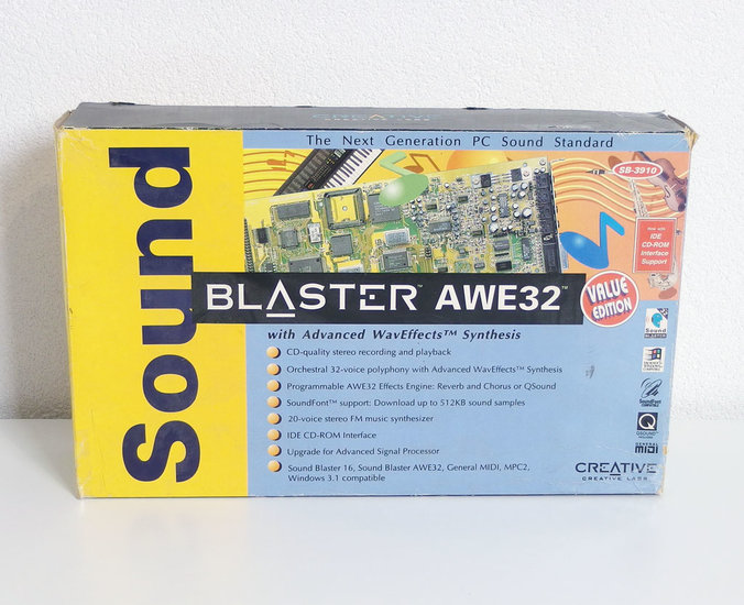 New Creative CT3910 Sound Blaster AWE32 Value audio / CD-ROM