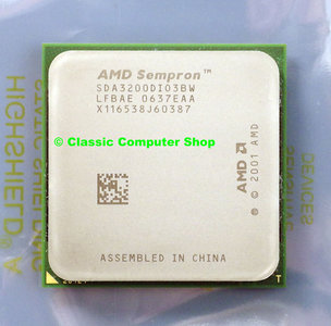 New AMD Sempron 64 3200+ SDA3200DIO3BW 1.8GHz socket 939 processor - CPU S939