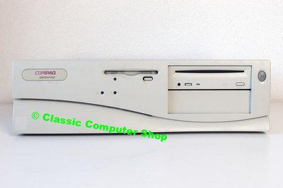 COMPAQ Deskpro 2000 Pentium II Windows 9x desktop PC - ISA PCI parallel LPT 95 98 NT 4.0 vintage retro 90s