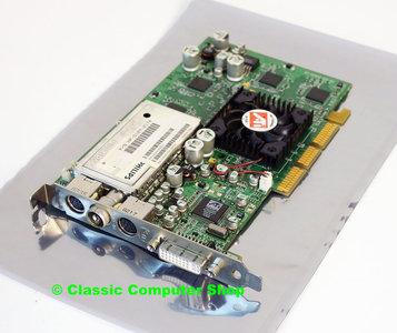 ATI All In Wonder P/N 109-95900-00 64MB DDR 128-bit Radeon 9000 DVI VIVO TV-tuner DX8.1 graphics AGP 4x PC card adapter