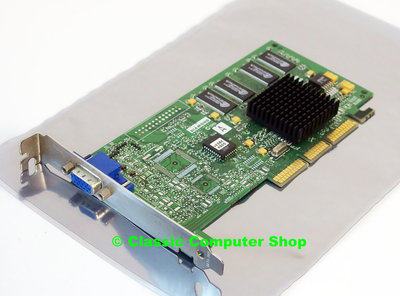 Diamond Speedstar A200 8MB S3 Savage4 PRO VGA DX6 graphics AGP 4x PC card adapter - vintage retro 90s