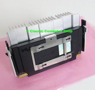 Intel Pentium III Coppermine SL47S 866MHz slot 1 SECC2 processor w/ heatsink - PIII P3 3 cartridge CPU FSB 133MHz