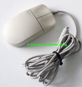 HP C1413A 2 button PS/2 beige PC mouse - vintage retro 90s dos windows 3.1 3.x