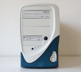 Custom midi tower PC Pentium MMX 200MHz | 64MB RAM | S3 Virge/DX | Sound Blaster AWE64 | CD-RW | Windows 98SE - ISA PCI parallel LPT DOS gaming Intel 430VX vintage retro game