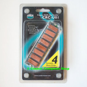 New & sealed Cooler Master CRC-U01 copper RAM chip cooler heatsinks NOS