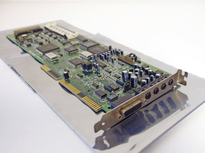 Creative CT3900 Sound Blaster AWE32 audio / IDE CD-ROM controller 16-bit ISA PC card - OPL3 386 486 Pentium DOS Windows vintage retro 90s