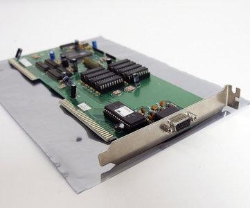 Cirrus Logic CL-GD5424 1MB VGA graphics video VLB card - VL-bus DOS Windows 3.x 486 90s