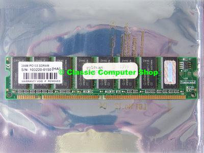 Transcend 256MB PC133 168-pin DIMM SDRAM memory module #2