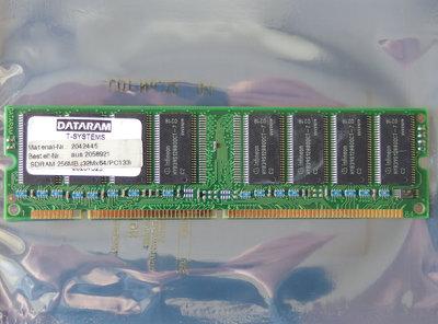 Infineon HYB39S128800CT-7 256MB PC133 168-pin DIMM SDRAM memory module