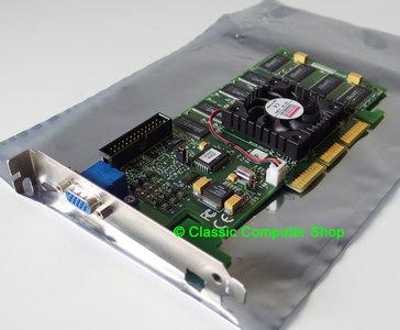 Diamond Viper V770U ATX 32MB NVIDIA Riva TNT2 Ultra VGA graphics video AGP PC card adapter - vintage retro 90s