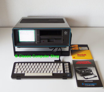 Commodore SX-64 first portable computer with color screen - C64 64 vintage retro 80s