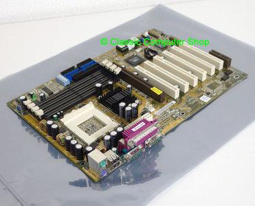 Asus TUV4X rev. 1.01 socket 370 ATX PC motherboard main system board - S370 Pentium III 3 PIII P3 Tualatin Coppermine Celeron FC-PGA2 AGP pro PCI VIA Apollo Pro 133T