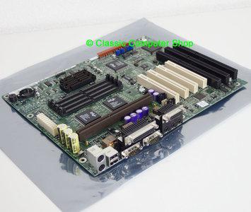 Intel PD440FX slot 1 ATX PC motherboard main system board - AA 678458-311 Pentium II 2 PII P2 PCI ISA Intel 440FX Yamaha YMF715-S OPL3 vintage retro 90s