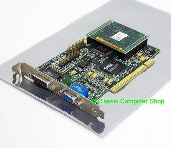 Matrox Mystique MGA-MYST/2BI 2MB MGA-1064SG VGA DX5 graphics video PCI PC card adapter w/ MGA-MYST/MOD2 2MB memory expansion board - 4MB Pentium Windows 95 vintage retro 90s