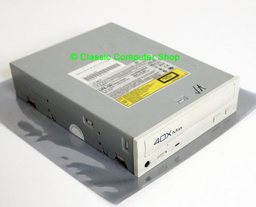 Lite-On LTN-403L 40x CD-ROM player 5.25'' internal PATA drive white / beige front - CD-R IDE