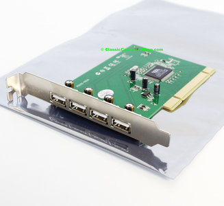 Sitecom CN-029 VIA VT6212L 4-port USB 2.0 PCI card adaptor