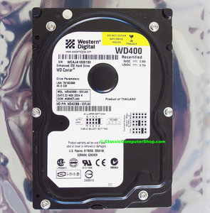Western Digital WD Caviar WD400 3.5'' internal PATA 40GB hard disk drive HDD - WD400BB-00FJA0