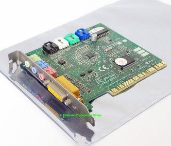 Creative CT5803 Ensoniq AudioPCI sound audio PC PCI card - Windows 98 Pentium vintage retro 90s