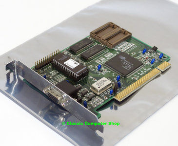 Quantum Designs CL543XPCI/SMT 1MB Cirrus Logic CL-GD5430 VGA graphics video PCI PC card adaptor - Pentium Windows 3.1 95 vintage retro 90s