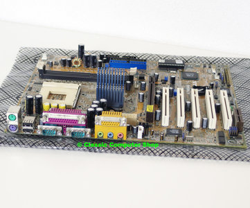 Asus A7M266 rev. 1.04 socket 462 / A ATX PC motherboard main system board - AMD Athlon XP Duron DDR sound AGP 4x Pro PCI AMD-761