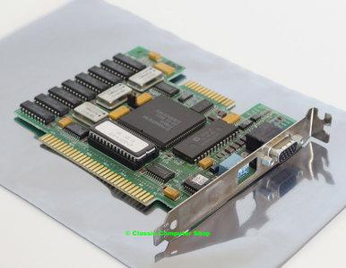 Western Digital WDC 61-603011 Paradise PVGA1A VGA graphics video 8-bit ISA card adaptor - DOS Windows 3.x 286 386 Tulip