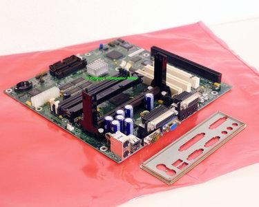 Intel RC440BX slot 1 mATX PC motherboard main system board - VGA audio ISA PCI USB Pentium II PII P2 III PIII P3 Intel 440BX 719448-206