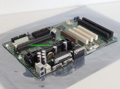 Intel AB440ZX slot 1 ATX PC motherboard main system board - Yamaha YMF740 OPL3 Sound Blaster Pro audio ISA PCI AGP USB Pentium II PII P2 440ZX 727158-205
