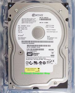 IBM eServer P/N 39M0129 / Western Digital WD Caviar WD400BB 3.5'' internal PATA 40GB hard disk drive HDD - WD400BB-23JHC0