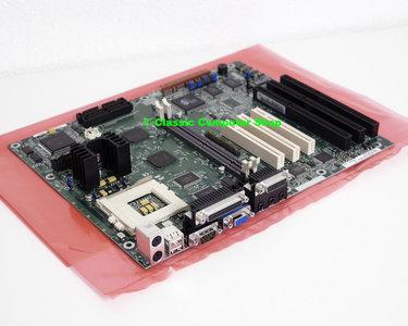 Intel AN430TX socket 7 ATX PC motherboard main system board - Yamaha YMF715 OPL3 Sound Blaster Pro YMF704 OPL4 VGA audio ISA PCI USB Pentium MMX 430TX AA 685868-302