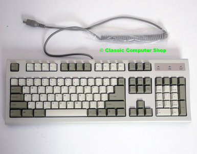 New Acer Accufeel 6310 series QWERTY 5-pin DIN AT serial beige PC keyboard - NOS Windows 9x 95 98