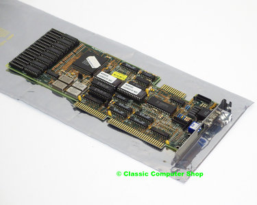 Plantron Western Digital WD90C00-JK VGA graphics video 16-bit ISA card adaptor - DOS Windows 3.x 286 386 90s