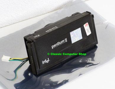 Intel Pentium II Deschutes SL2QH 333MHz slot 1 SECC processor w/ cooler - CPU P2 2 PII cartridge 66MHz FSB