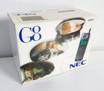 NEW NEC G8 GSM 900 - vintage retro 90s mobile cell phone