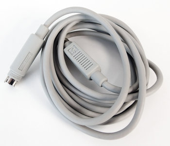 Apple ADB keyboard cable 590-4501-B 190 cm grey - vintage retro Macintosh SE Classic Performa IIgs