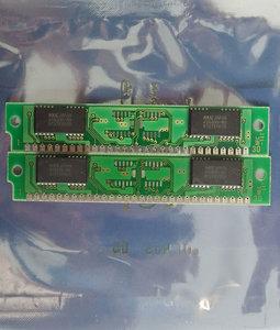 Set 2x NEC MC-421000A8BB-80 1 MB 1MB 2 MB 2MB kit 80 ns 80ns 30-pin SIMM non-parity RAM memory modules - vintage retro 80s
