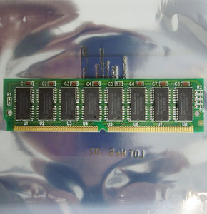 Panasonic MN414400ASJ-07 16 MB 16MB 70 ns 70ns 72-pin gold contacts SIMM non-parity FPM RAM memory module - vintage retro 90s