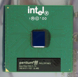 Intel Pentium III Coppermine SL4MD 866 MHz socket 370 processor - CPU P3 PIII 866MHz S370