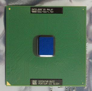 Intel Pentium III Coppermine SL5DV 1 GHz socket 370 processor - CPU PIII P3 3 1GHz 1000MHz 1000 MHz S370