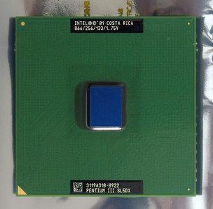 Intel Pentium III Coppermine SL5DX 866 MHz socket 370 processor - CPU PIII P3 866MHz S370