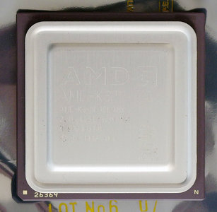 AMD K6-III/400AHX 400 MHz super socket 7 processor - CPU 400MHz K6-III