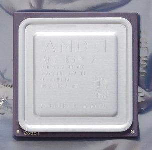 AMD K6-2/500AFX 500 MHz super socket 7 processor - CPU 500MHz K6-2