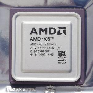 AMD K6-200ALR 200 MHz socket 7 processor - CPU 200MHz K6