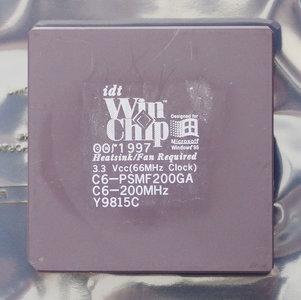 idt Winchip C6-PSMF200GA 200 MHz socket 7 processor - CPU 200MHz