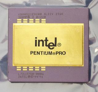 Intel Pentium Pro KB80521EX200 SL22V 200 MHz socket 8 processor - 200MHz CPU vintage retro 90s
